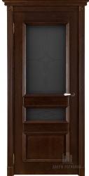 Двери массив Афродита античный орех мателюкс