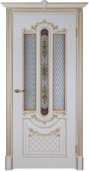 Дверь Александрия 2 эмаль слоновая кость со стеклом