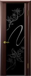 Двери Люксор Синай 3 венге стекло триплекс Альмека