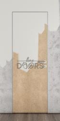 Скрытая дверь под покраску ДГ-500