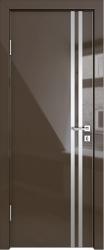Межкомнатная дверь 506 шоколад глянец