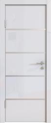 Межкомнатная дверь 505 белый глянец