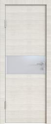 Межкомнатная дверь 501 ива светлая стекло