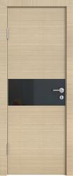 Межкомнатная дверь 501 неаполь стекло черное