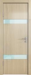Межкомнатная дверь 502 анегри светлый глянец стекло