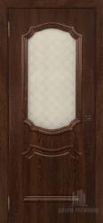 Межкомнатная дверь АСТИ коньяк стекло