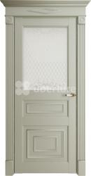 Двери Florence 62001 Серена светло серый витраж