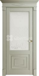 Двери Florence 62002 Серена светло серый витраж