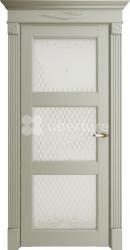 Двери Florence 62003 Серена светло серый витраж