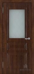 Межкомнатная дверь Римини коньяк стекло