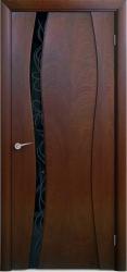 Двери Люксор Лиана 1 красное дерево