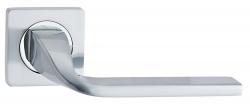 Ручка дверная V12L матовый хром