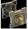 Завертка WC VQ003 Aged bronze