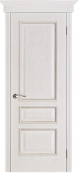 Дверь Вист Вена белая патина (тон 17)