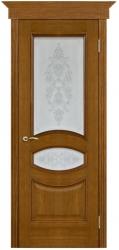 Дверь Вист Ницца античный дуб (тон 14) со стеклом