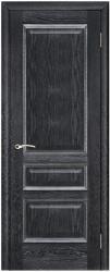 Дверь Вист Вена чёрная патина (тон 21)