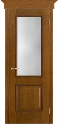 Дверь Вист Шервуд античный дуб (тон 14) стекло Классик