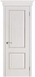 Дверь Вист Шервуд белая патина (тон 17)