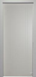 Дверь Портэ Виста Сканди 4 RAL 9010