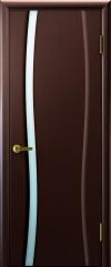 Двери Регионов Диадема 1 венге со стеклом белый триплекс