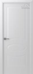Белорусские двери Элина белая эмаль