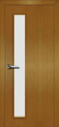 Двери Матадор Гефест светлый дуб, стекло мателюкс
