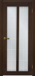 Двери Матадор Гермес венге, стекло мателюкс с художественным рисунком