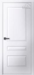 Белорусские двери Роялти белая эмаль