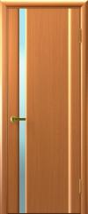 Двери Люксор Техно 1 анегри светлый белый триплекс