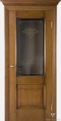 Дверь Портэ Виста Флоренция Классик темный мед цвет 6 стекло