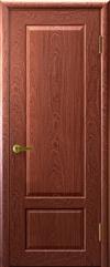 Двери Регионов Валенсия 1 Красное дерево глухая