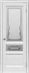 Двери Регионов Валенсия 2 ясень жемчуг стекло Ривьера