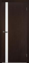 Двери Матадор Веста 1 венге, каленое стекло мателюкс
