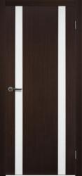 Двери Матадор Веста 2 венге, каленое стекло мателюкс