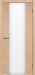 Двери Матадор Веста 3 белёный дуб, каленое стекло мателюкс