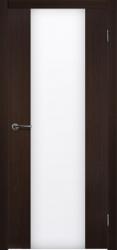Двери Матадор Веста 3 венге, каленое стекло мателюкс