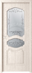 Чебоксарские двери ЧФД Виктория стекло гравировка