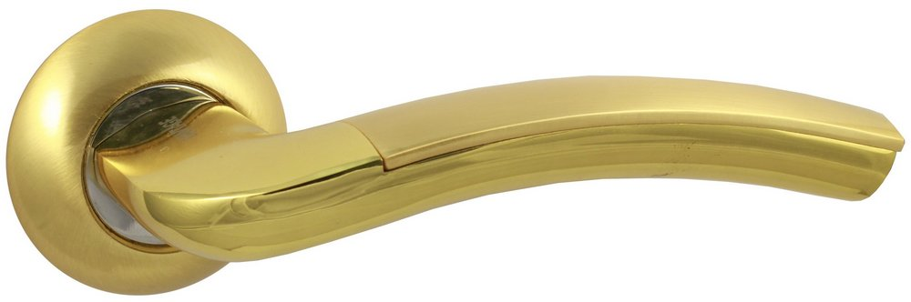 Ручка дверная V27C золото