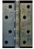 Петля 100X70X25 4BB Flo antic bronze