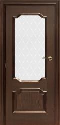 Межкомнатные двери Брама 33.2 дуб бренди