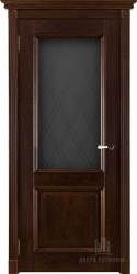 Двери массив Афина античный орех мателюкс