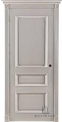Двери массив Афродита слоновая кость