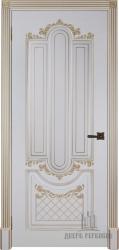Дверь Александрия 2 эмаль слоновая кость