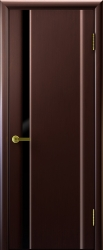 Двери Люксор Синай 1 венге черный триплекс