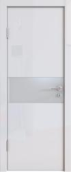 Межкомнатная дверь 501 белый глянец
