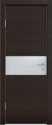 Межкомнатная дверь 501 венге горизонт стекло
