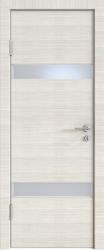 Межкомнатная дверь 502 ива светлая стекло