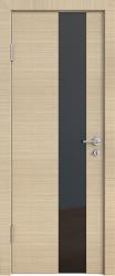 Межкомнатная дверь 504 неаполь стекло черное