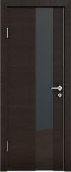 Межкомнатная дверь 504 венге горизонт стекло