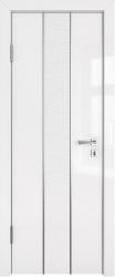 Дверь ДГ ГЕРДА белый глянец 3D